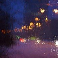 Талый снег на лобовом стекле :: Андрей Бабенко