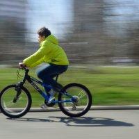 Мой фотоаппарат и велосипед :: Юлия Заря