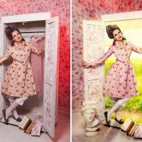 волшебный шкаф (до и после) :: Veronika G