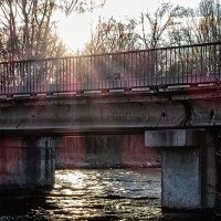 Пешеходный мост :: Юрий Муханов