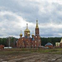 Храм Георгия Победоносца в г.Чайковском :: Анна Агеева