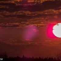 Весенний закат :: Сергей Базылев