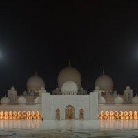 Великая мечеть шейха Заида :: человечик prikolist
