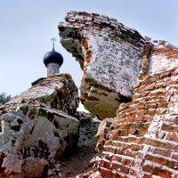 Развалины Спаса-Каменного.1984 год. :: Валерий Талашов