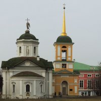 Церковь спаса всемилостивого в кусково :: Александр Качалин