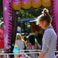Мыльные пузыри :: Елена Федорова