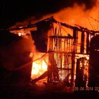 Пожар за окном. :: Елена