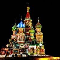 Храм Василия Блаженного :: Виктор Бондарев