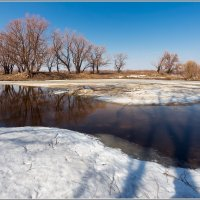 Просевший лёд :: Сергей Бережко