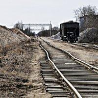 Суровые российские железные дороги... :: Валерий Небесский