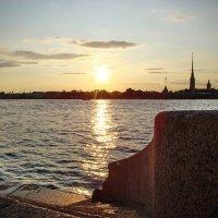 Брег, река и крепость. :: Владимир Гилясев