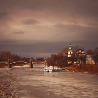 Вид с моста :: Дмитрий Кудряшов