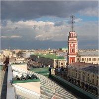 Однажды ... мы гуляли по крышам ... :: Михаил Палей