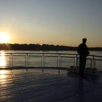 закат на палубе :: Лидия кутузова