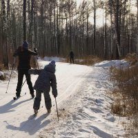 Лыжники :: Николай