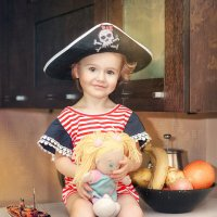 Маленькая пиратка :: Anna Lipatova