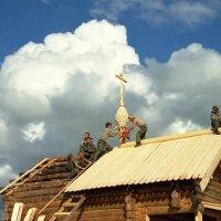 Как строили часовню :: Валерий Талашов