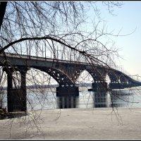 23.03.2014. Саратов. Мост через Волгу :: Лариса Коломиец