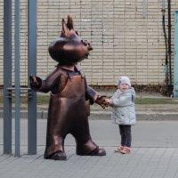 Девочка и Чипалино :: Сергей Черепанов