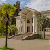 Здание Абхазской государственной филармонии. Сухум. :: Сергей Карелин
