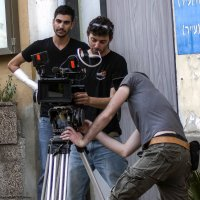 На съёмочной площадке-операторы :: Shmual Hava Retro
