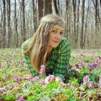В объятиях весны :: Анна Григорьева