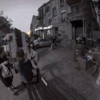 На съёмочной площадке-за 5 мин. до съёмки :: Shmual Hava Retro