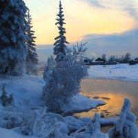 зима на речке :: Александр