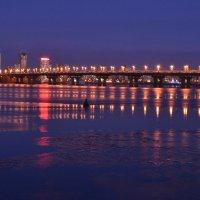 Киев.Мост Патона. :: Андрей Зелёный