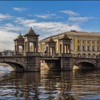 Мост Ломоносова (бывший Чернышёв) :: Валентин Яруллин