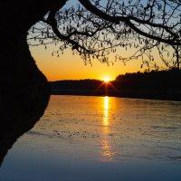Закат весной :: Валентин Ефимов