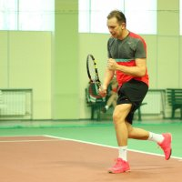 Любительский турнир по теннису :: Павел Железняк