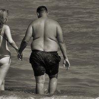 И это на пляже... :: Андрей Власов