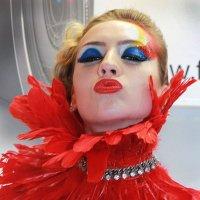 Lady in red.Фотофорум CE&PE 2014. :: Константин Рыбалко