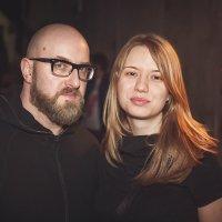 Daniel Meyer с возлюбленной Ксенией :: Алена Шпинатова