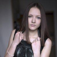 Девушка с голубыми глазами :: Марина Кириллова