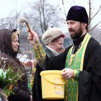 Вербное воскресение :: Лариса Кайченкова
