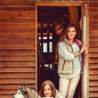 Все красавицы с собакой :: Ольга Чиж