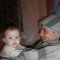 Доченька с папой :: Анастасия Ляшко