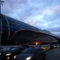 Аэропорт Домодедово. Москва :: Надежда Гусева
