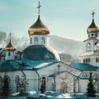 Храм всех святых г. Междуреченск :: Pavel Rakhimberdiev