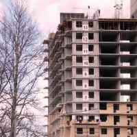 Строители  работают без страховки! -2  Автор Натан. :: Фотогруппа Весна.