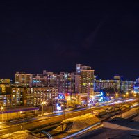 Жизнь города не прекращается никогда. :: Кенгуру Урбанистический