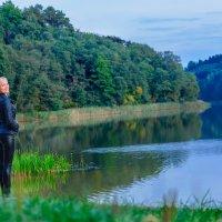 Озеро в Лесковичах :: Анатолий Клепешнёв