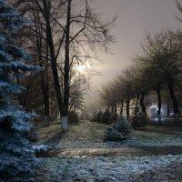 Апрельский снежок в Apple Sity =) :: Alexandr Ivanoff