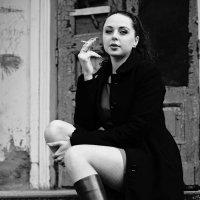 loneliness and smoke :: Алёна ChevyCherry