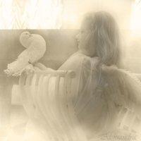 ангел и голубь :: Александра Мустафина
