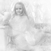 ангелочек с голубем :: Александра Мустафина