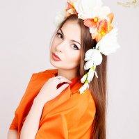 весенние фотосессии в цветочных декорациях :: Solomko Karina