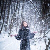 """радость """"первому"""" снегу :: Николай Леммер"""